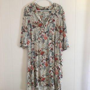 ZARA • Women's Floral Tunic